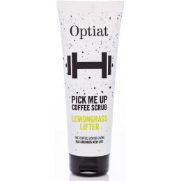 Optiat Lemongrass Lifter Coffee Scrub - 220g