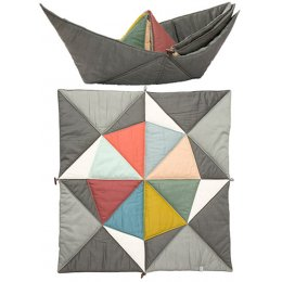 Fabelab Play Fold Ship Blanket - Multi-Coloured