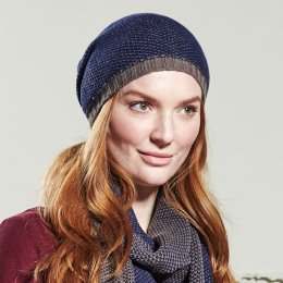 Nomads Chevron Knit Hat - Indigo