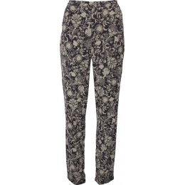 Nomads Floral Peg Trousers - Navy