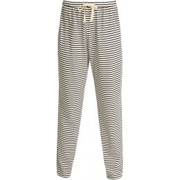 People Tree Organic Pyjama Trousers - Navy Stripe