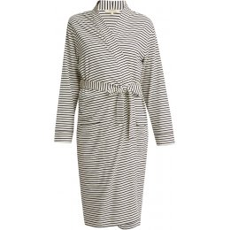 People Tree Organic Robe - Navy Stripe