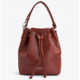 Matt & Nat Vegan Livia Bucket Bag - Henna