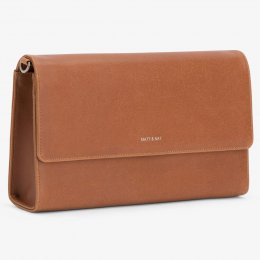 Matt & Nat Vegan Drew Clutch Bag - Chili