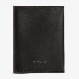 Matt & Nat Vegan Voyage Passport Sleeve - Black