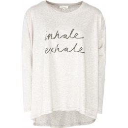 Thought Breathe T-Shirt - Oatmeal