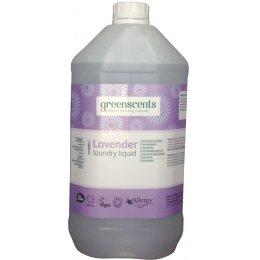 Greenscents Concentrated Organic Non-Bio Laundry Liquid - Lavender - 5L