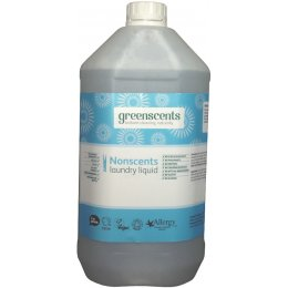 Greenscents Laundry Liquid Unscented 5L