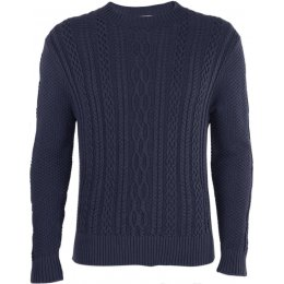 Thought Edvard Organic Jumper - Navy