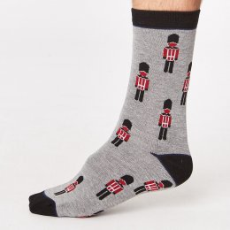 Thought Mens London Bamboo Socks - London Guard