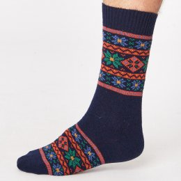 Thought Mens Sven Socks - Navy