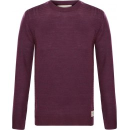 Komodo Birch Knit Jumper - Plum
