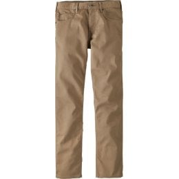 Patagonia Mens Performance Regular Fit Twill Jeans - Mojave Khaki