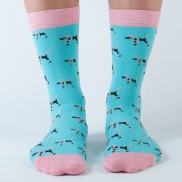 Doris & Dude Womens Poodle Bamboo Socks