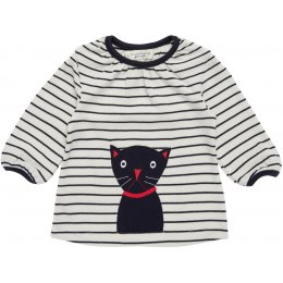 Sense Organics Selly Long Sleeve Shirt - Cat Applique
