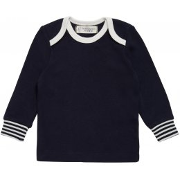 Sense Organics Timber Baby Shirt - Navy