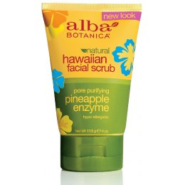 Alba Botanica Pineapple Enzyme Facial Scrub - 118ml