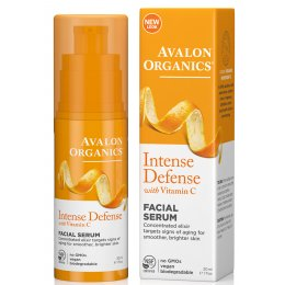 Avalon Organics Intense Defence Vitality Facial Serum - 30ml