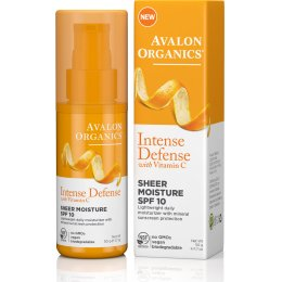 Avalon Organics Intense Defence Sheer Moisture SPF10 - 50g