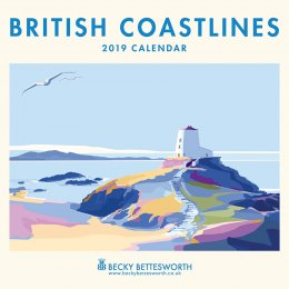 British Coastlines 2019 Wall Calendar