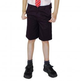 Boys Classic Fit Shorts - Black - 11yrs Plus