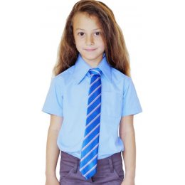 Blue Short Sleeve Shirt - 4yrs