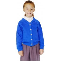 Organic Cotton School Cardigan - 5yrs