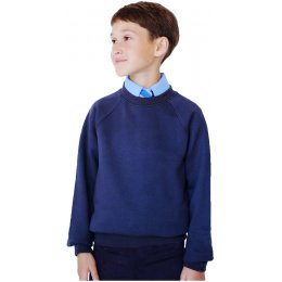 Organic Cotton School Sweatshirt - 5yrs