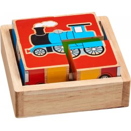 Lanka Kade Wooden Block Puzzle - Transport