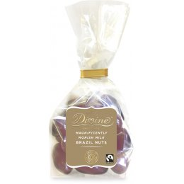 Divine Milk Chocolate Brazil Nuts - 150g
