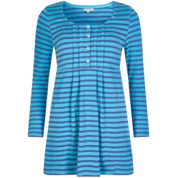 Mudd & Water Francoise Tunic - Solstice Navy Stripe