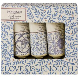 Morris & Co Love is Enough Hand Cream Collection - 3 x 30ml