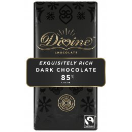 Divine 85 percent  Dark Chocolate