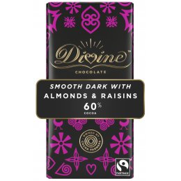 Divine Dark Chocolate with Almonds & Raisins