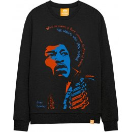 All Riot Jimi Hendrix Power of Love Sweatshirt