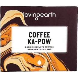 Loving Earth Coffee Ka-Paw Dark Chocolate Truffle - 45g