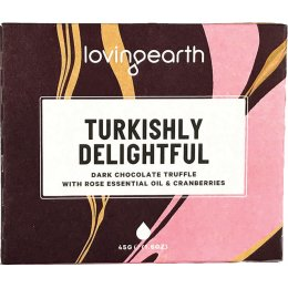 Loving Earth Turkishly Delightful Truffle Chocolate - 45g