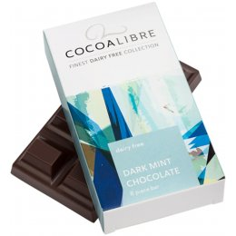 Cocoa Libre Dark Minty Chocolate Bar - 50g