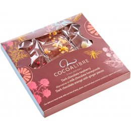 Cocoa Libre Mini Chocolate Slab Gift Set - 120g