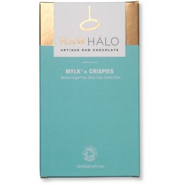Raw Halo Mylk & Crispies Bar - 35g