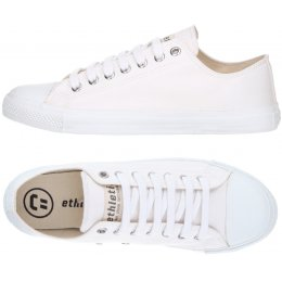 Ethletic Fairtrade Trainers - Just White