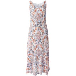 Nomads Cotton Voile Maxi Dress - White