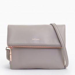 Matt & Nat Hiley Vegan Crossbody Bag - Fog