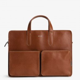 Matt & Nat Soren Vegan Briefcase - Chili