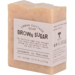Handmade Exfoliating Cake Soap 250g - Brown Sugar