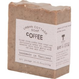 Handmade Exfoliating Cake Soap 250g - Coffee