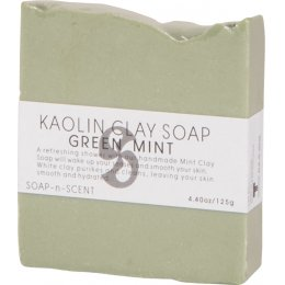 Kaolin Clay Soap 125g - Green Mint