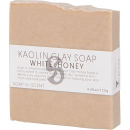 Kaolin Clay Soap 125g - White Honey