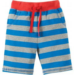 Frugi Little Stripy Monkey Shorts