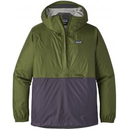 Patagonia Mens Torrentshell Pullover Jacket - Sprouted Green